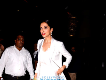 Deepika Padukone snapped attending an awards function
