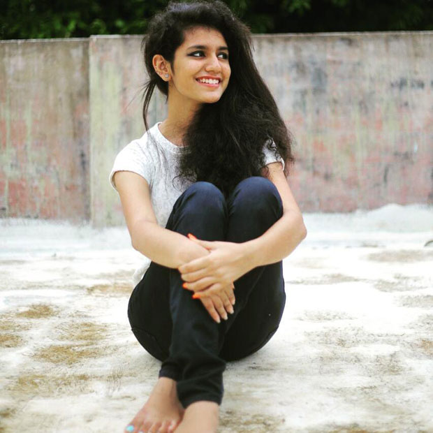 Actress Priya Prakash Varrier, INTERNATIONAL RECORD on Instagram