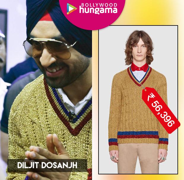 Weekly Celeb Splurges: Diljit Dosanjh in Gucci
