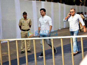 Celebs snapped attending Sridevi's last rites at Celebrations Sports Club