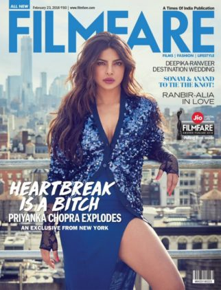 Priyanka Chopra On The Cover Of Filmfare