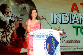 Hema Malini, Aftab Shivdasani, Ameesha Patel and others grace the 'One For All, All For One' event held in the honour of unsung heroes in Indian Armed Forces