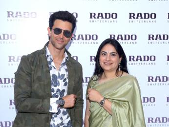 Hrithik Roshan launches latest range of Rado in Delhi