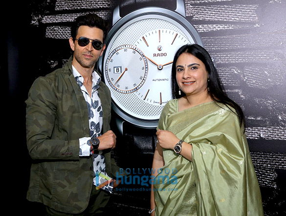 Hrithik Roshan launches latest range of Rado in Delhi