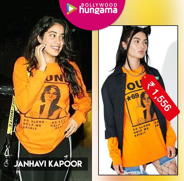 Weekly Celeb Splurges: Janhavi Kapoor in Pleasures Found