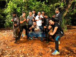 On The Sets Of The Movie Junglee
