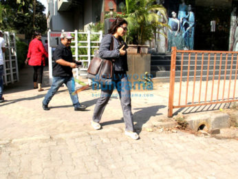 Kajol snapped at Vikram Phadnis' store in Juhu