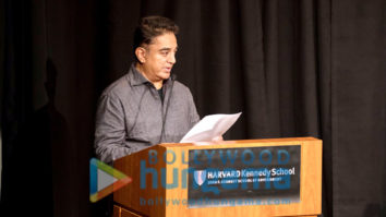 Kamal Haasan gives Keynote Speech at Harvard