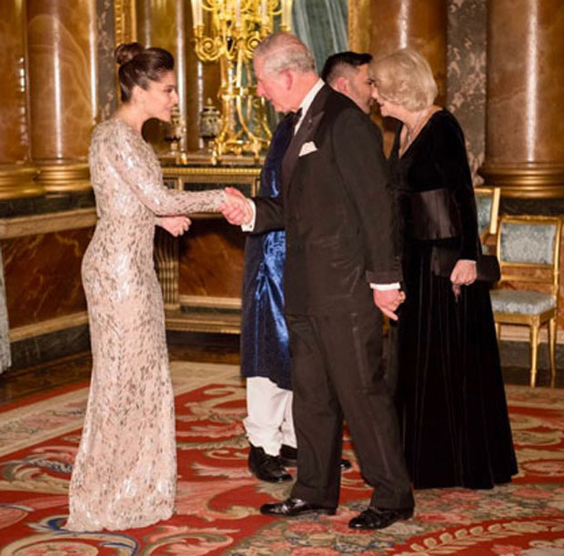 Kanika Kapoor performs in the presence of Prince Charles at Buckingham Palace!