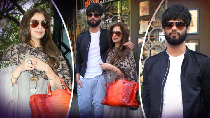 Karan Kapadia SPOTTED With His Aunt Dimple Kapadia At A Restaurant For Lunch