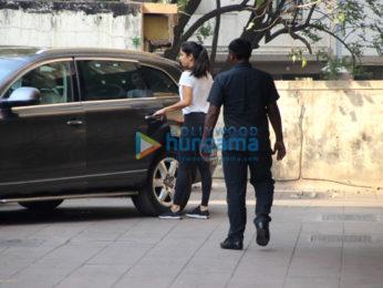 Katrina Kaif snapped outside her gym
