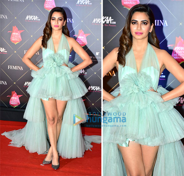Kriti Kharbanda at Nykaa.com Femina Beauty Awards 2018