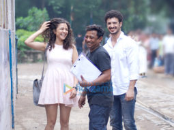 On The Sets Of The Movie Kuchh Bheege Alfaaz