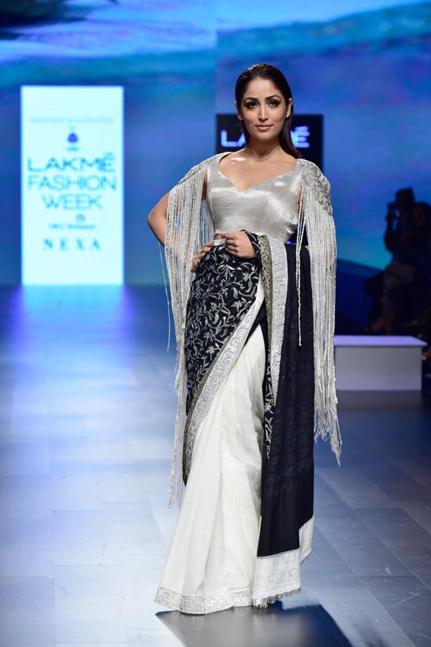lakme fashion week 2018 yami gautam turns showstopper for