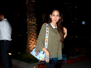 Mira Rajput snapped at BKC