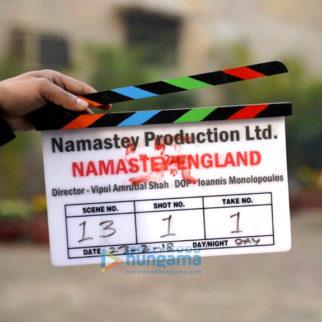 On The Sets Of The Movie Namastey England