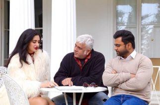 Nargis Fakhri snapped on sets of her horror flick Amaavas