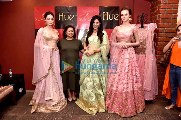Pooja Chopra snapped at Hues Fashion Store