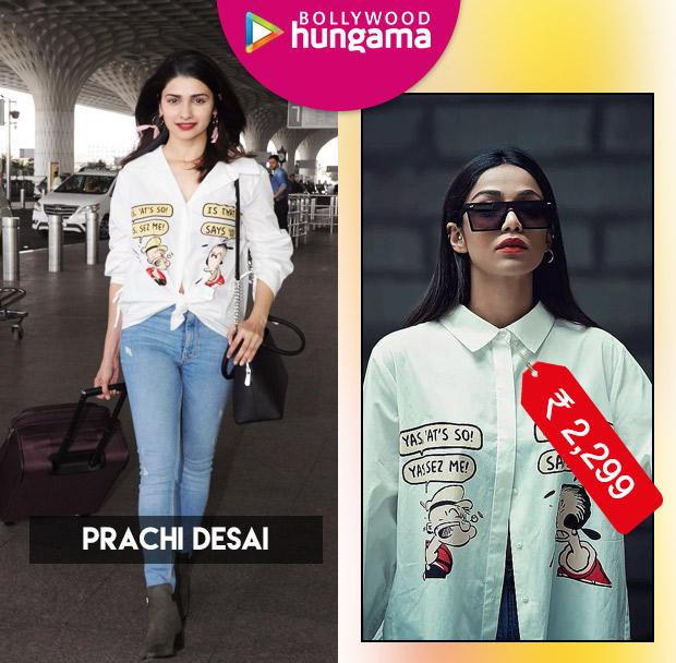 Weekly Celeb Splurges: Prachi Desai in Only x Popeye
