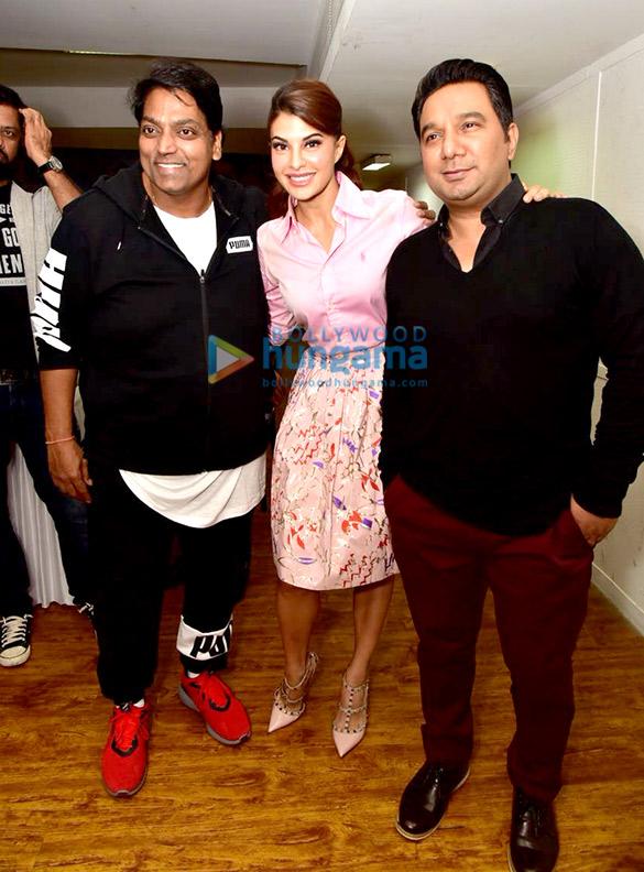 Press meet after Jacqueline Fernandez completes shooting 'Ek Do Teen' for Baaghi 2
