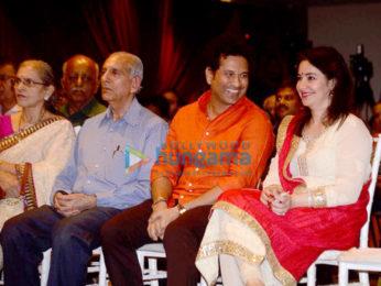 Sachin Tendulkar and Anjali Tendulkar snapped attending a book launch