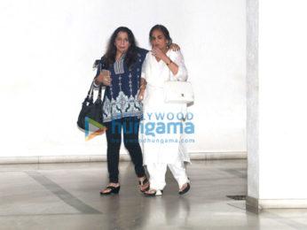 Salman Khan's mother Salma Khan spotted at Bandra