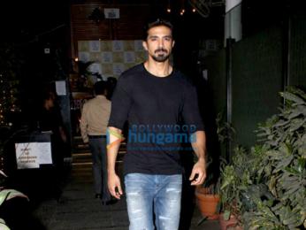 Saqib Saleem spotted at Off The Grid in Andheri, Mumbai