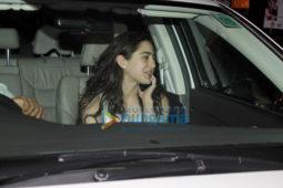 Sara Ali Khan snapped at Abhishek Kapoor's office