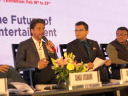Shah Rukh Khan and Ritesh Sidhwani represent the entertainment industry at the Magnetic Maharashtra Convergence Summit feature