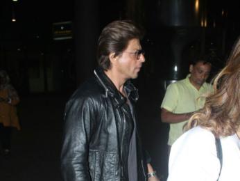 Shah Rukh Khan snapped at the airport