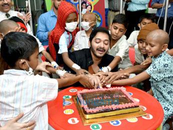 Shreyas Talpade and Deepti Talpade celebrate Valentine's Day with kids of Tata Memorial Hospital, Mumbai