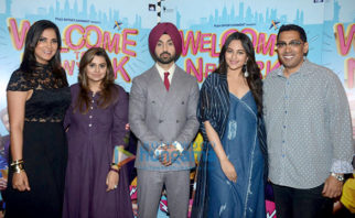 Sonakshi Sinha, Diljit Dosanjh and others promote their film 'Welcome to New York'