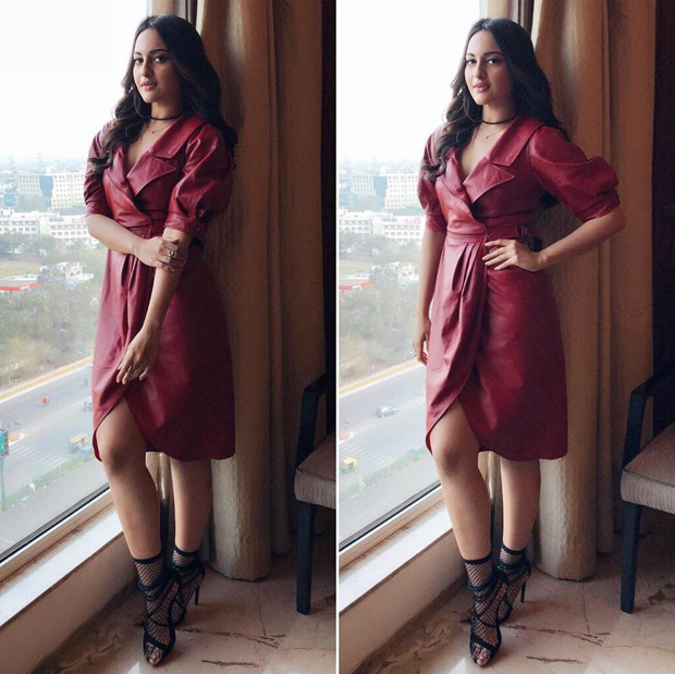 Sonakshi Sinha in Situationalist for Welcome to New York Promotions