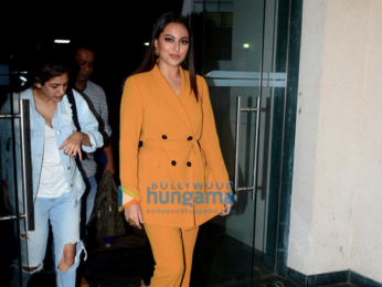 Sonakshi Sinha snapped at Reliance Studio, Film City