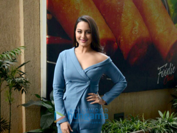 Sonakshi Sinha snapped at the promotions of Welcome To New York in Andheri