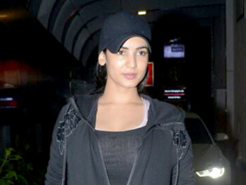 Sonal Chauhan snapped outside her gym in Khar