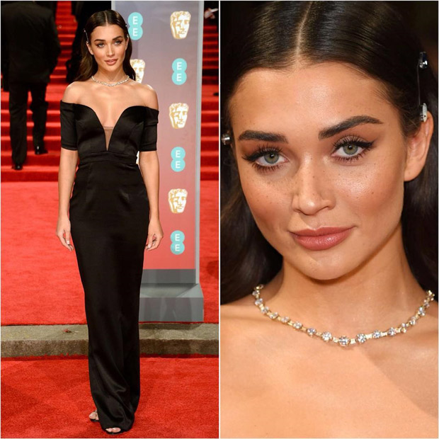 Sophisticated in the front, Party in the back! This is how Amy Jackson rolled at the BAFTA Awards 2018