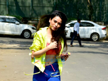 Soundarya Sharma spotted in Andheri