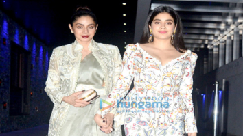 Sridevi and Janhvi Kapoor snapped at Hakkasan in Bandra