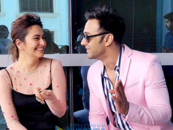 Star cast of 'Veerey Ki Wedding' snapped during promotions in Mumbai