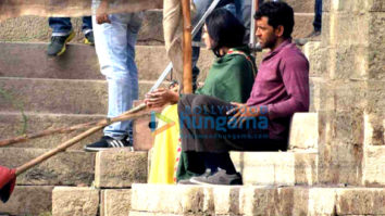 On The Sets Of The Movie Super 30