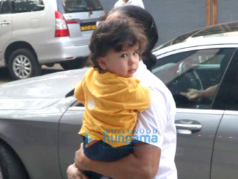 Taimur Ali Khan spotted with his nanny