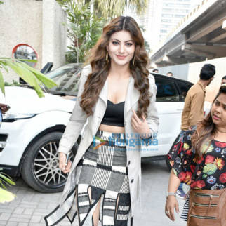 Urvashi Rautela spotted during Hate Story IV promotions