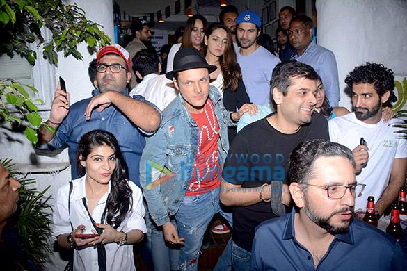 Varun Dhawan snapped with Natasha Dalal