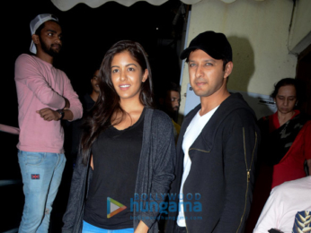 Vatsal Seth and Ishita Dutta snapped at PVR Juhu