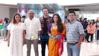 Vidya Balan and the cast of Tumhari Sullu snapped at Whistling Woods