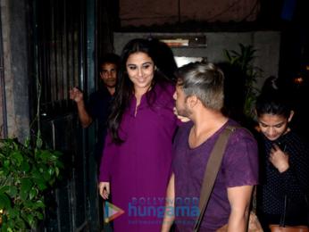 Vidya Balan snapped at Pali Village Cafe
