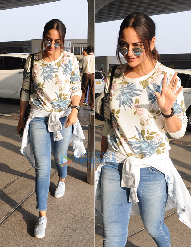 Weekly Airport Style: Sonakshi Sinha