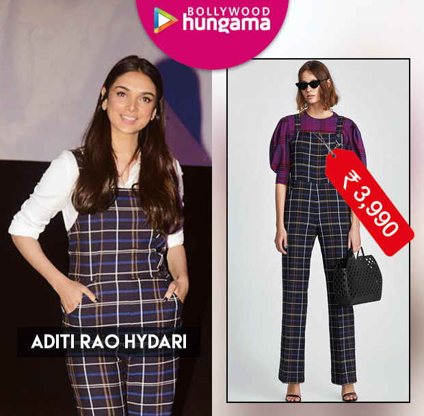 Weekly Celeb Splurges: Aditi Rao Hydari in Zara