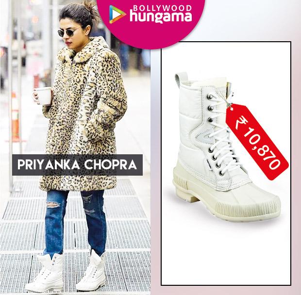 Weekly Celeb Splurges: Priyanka Chopra in Tretorn